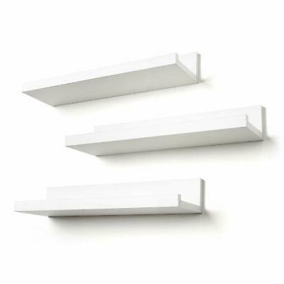 3PCS Floating Shelves Shelf Display Mount US