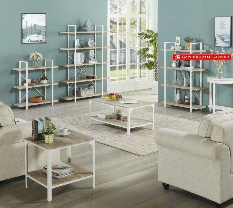 Homissue 5-Shelf Modern Style Bookshelf,