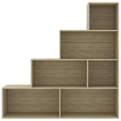 4 Tier Bookcase Book Shelf Room Display Storage Rack