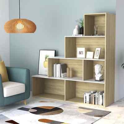 4 Bookcase Book Corner Shelf Room Divider Rack