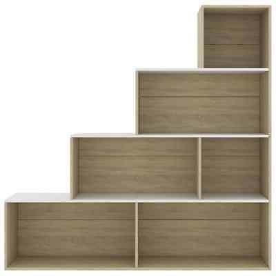 4 Book Shelf Room Divider Display Rack