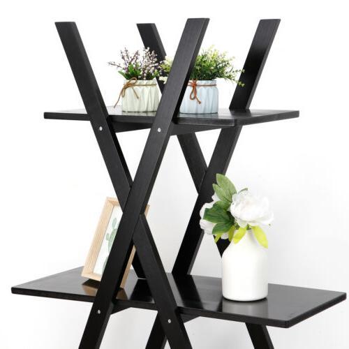 4 Ladder Storage Modern Black