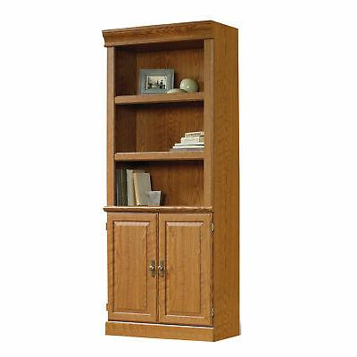 Sauder 402173 Library With Doors,