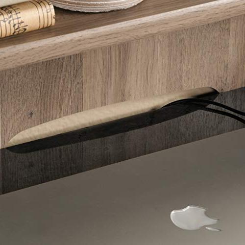 """Sauder 422811 Desk, L: x W: x 36.14"""", Salt Oak"""