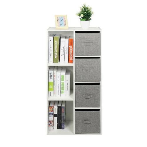 Bookcase Drawers Bookshelf