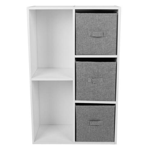 Bookcase CD Storage Drawers