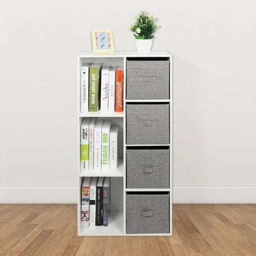 Storage Drawer Bookshelf Home