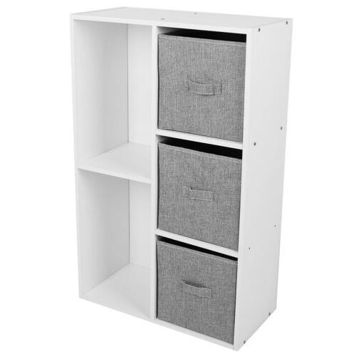 5/7 Cube Storage Bookshelf Home