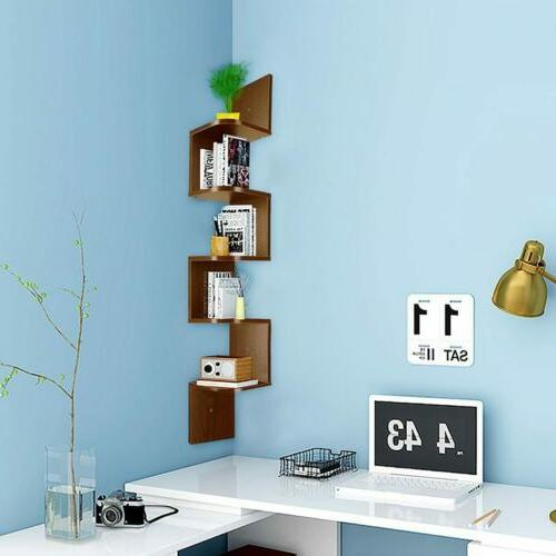 5 Tier Shelf Bookshelf Shelves Storage