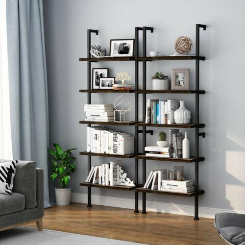 5-Tier Shelf Ladder Display Furniture