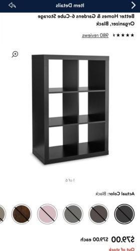 6-Cube Organizer Home Furniture