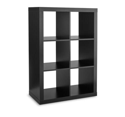 6-Cube Dark Brown Organizer