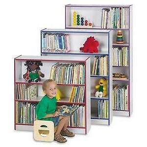 "Rainbow Accents 36"" Bookcase - Depth"