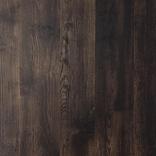 Nathan James 65501 Wood Bookcase Rustic Wood Metal Dark