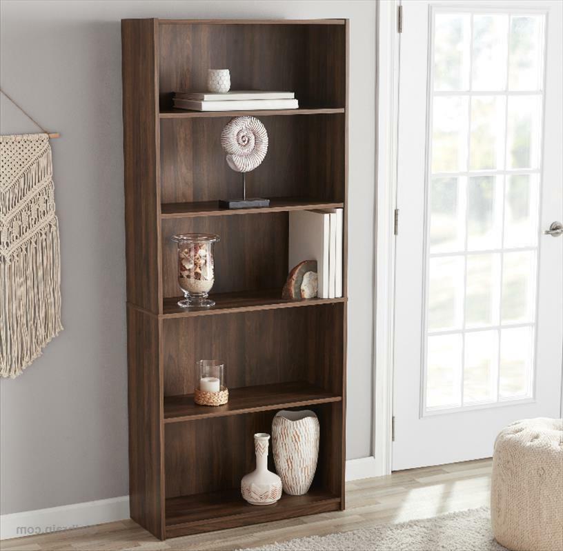 """71"""" 5-Shelf Storage Bookshelf Furniture"""