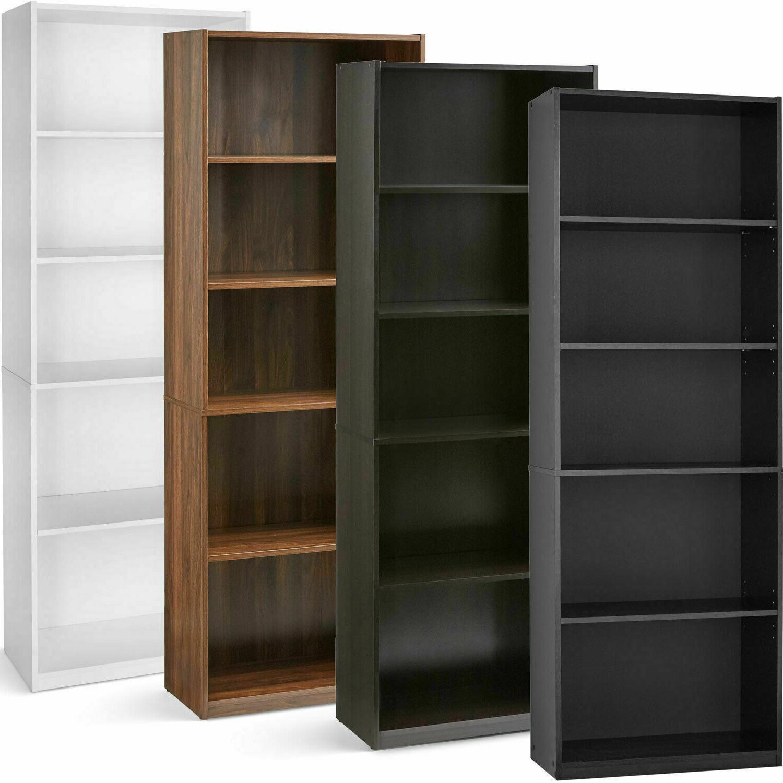 71 tall 5 shelf standard bookcase closed