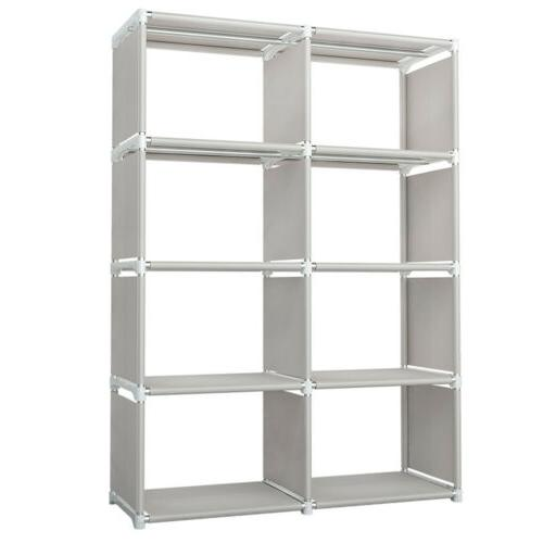 8 Cube Bookshelf Bookcase Display
