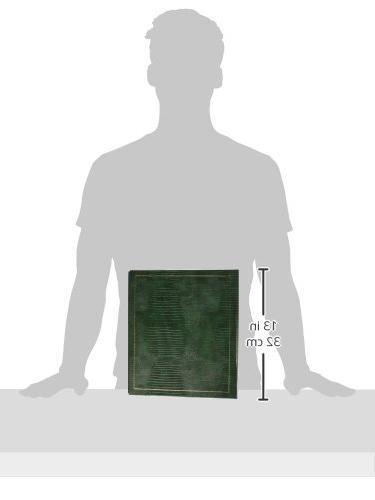 Magnetic 3-Ring Album Hunter Green