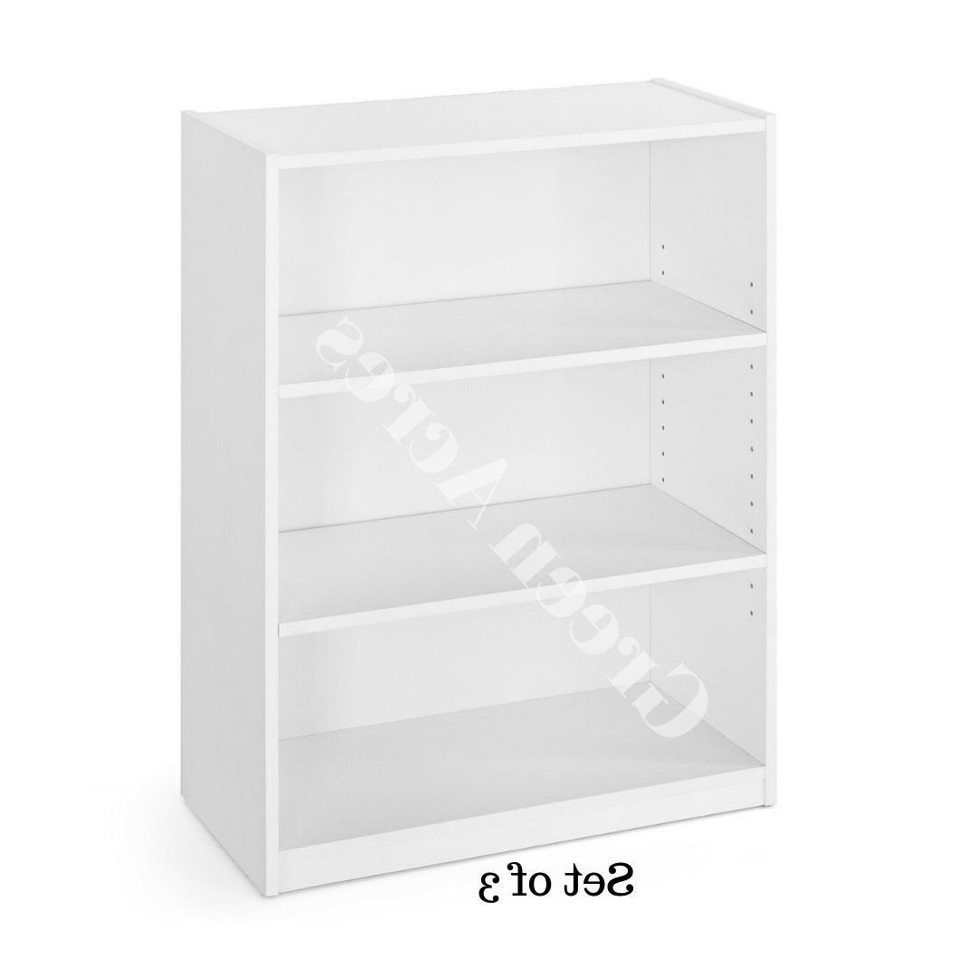 Adjustable 3 Shelf Shelving Decor Set of 3