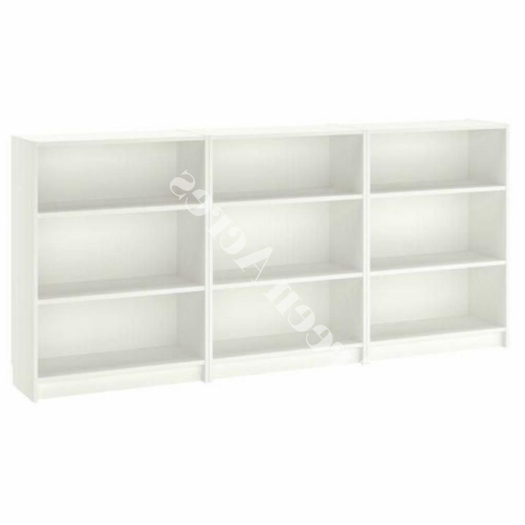Adjustable 3 Bookcase Shelving Decor Set 3