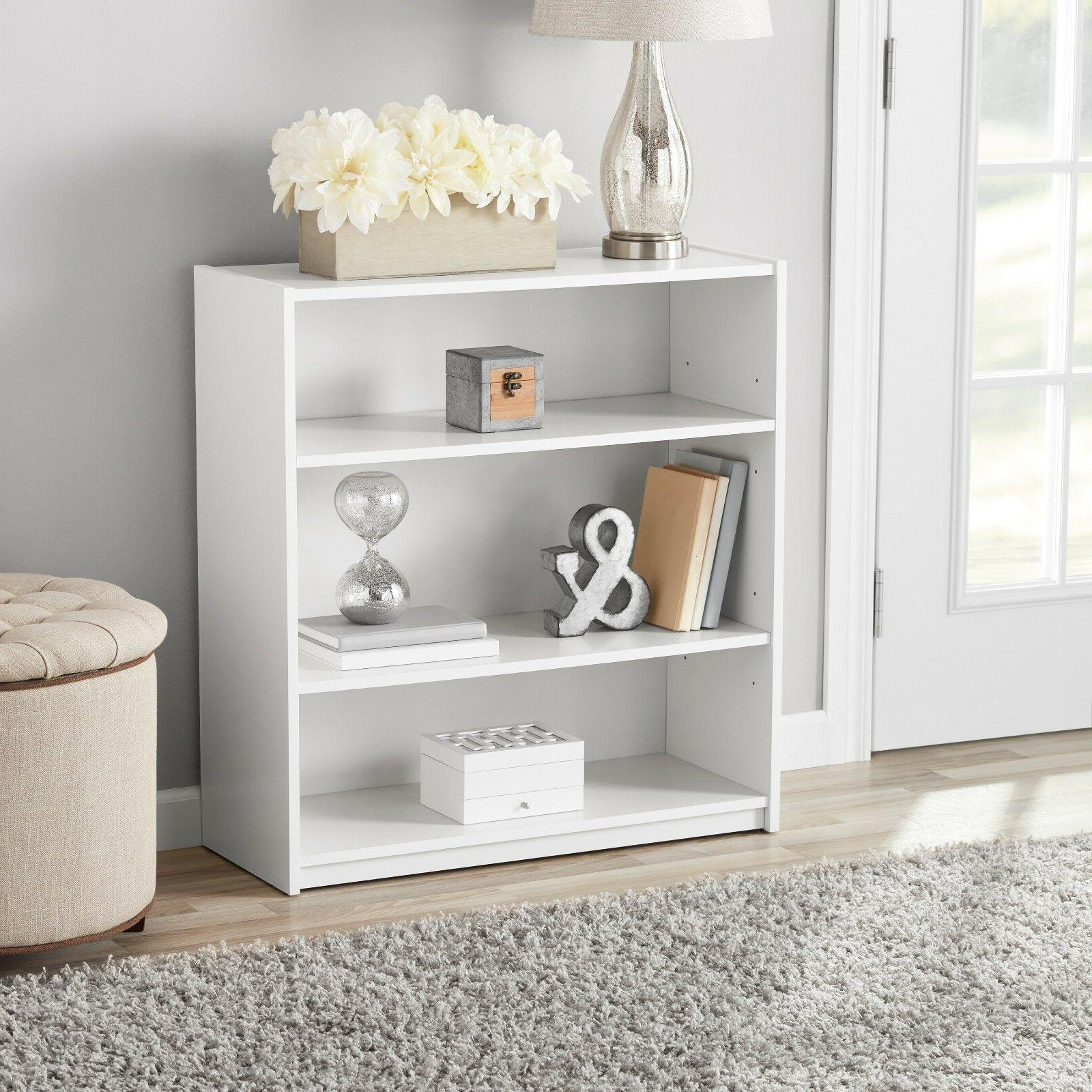 Adjustable 3 Bookcase Wide Shelving