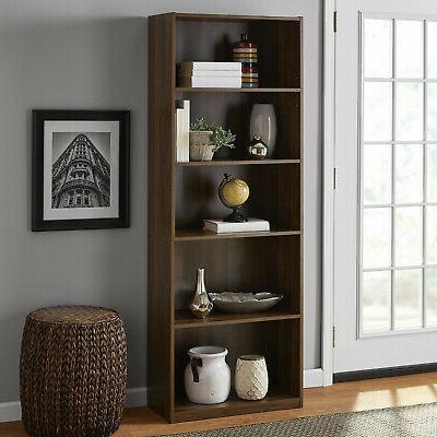 71 Closed Back Bookshelf