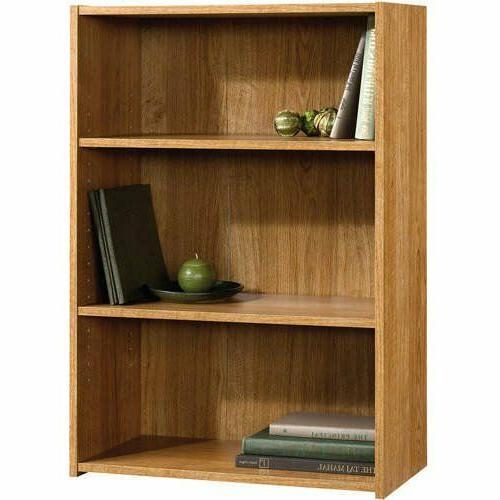 "Sauder 35"" Adjustable Shelf HIghland Oak Finish"
