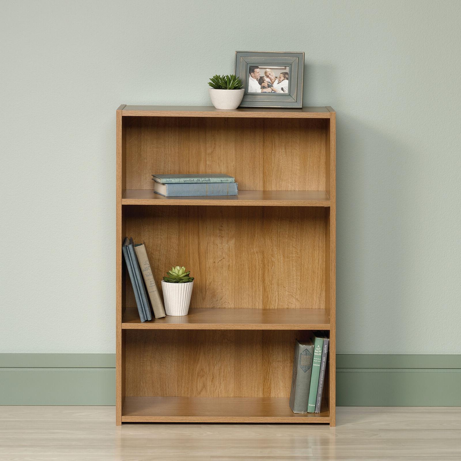 beginnings 35 3 adjustable shelf standard bookcase