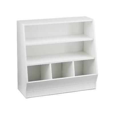 Bin Storage Case Kids Room Bedroom Living White Game