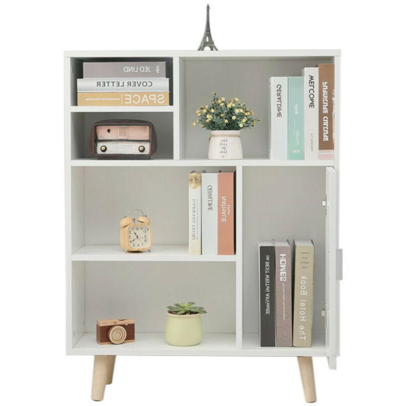 Wood Book Shelves Shelf White