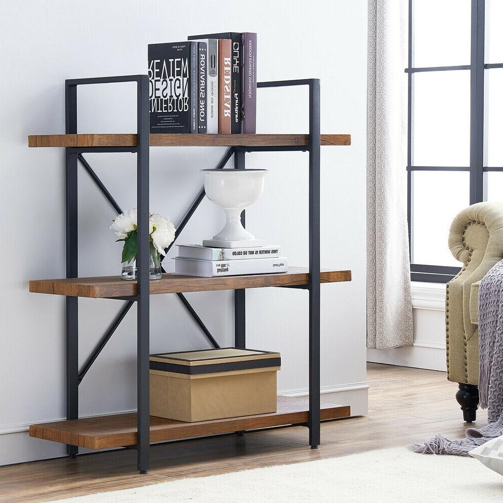 bookcases furniture shelves 2 tier rustic pipe