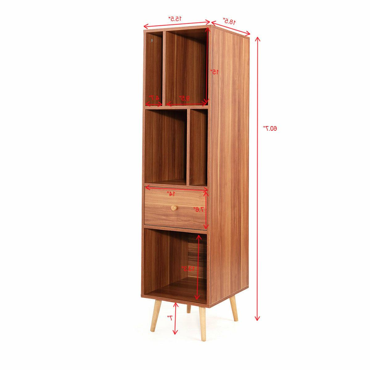 Bookcases With And 4 Foots Kids Brown