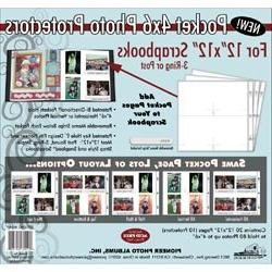 Bulk Buy: Pioneer Albums  Photo Protectors 12'X12' 10/Pkg  4