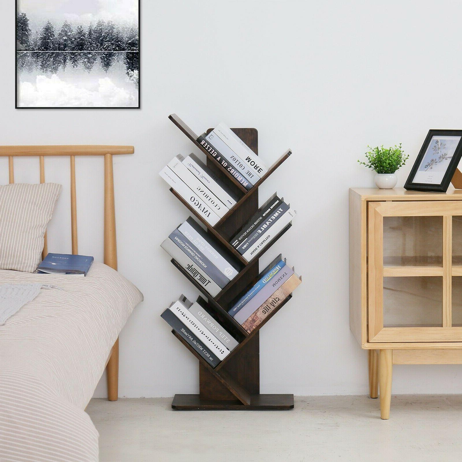 C&AHOME Bamboo Tree Rack
