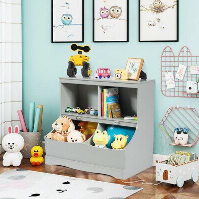Children's Storage Kids Cabinet