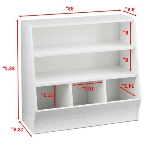Children's Storage and Book