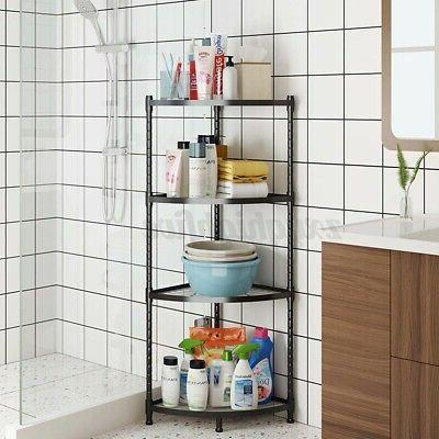 Corner Shelf Stand Shelves 2-5 Tier Bookcase