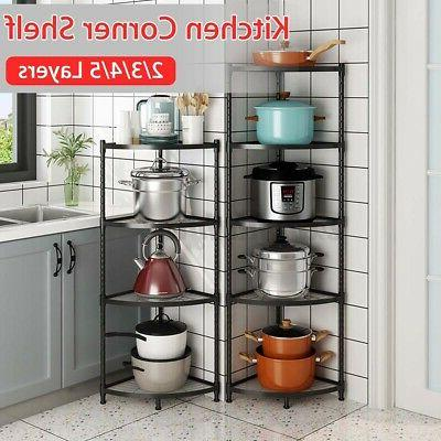 corner shelf stand display shelves rack storage