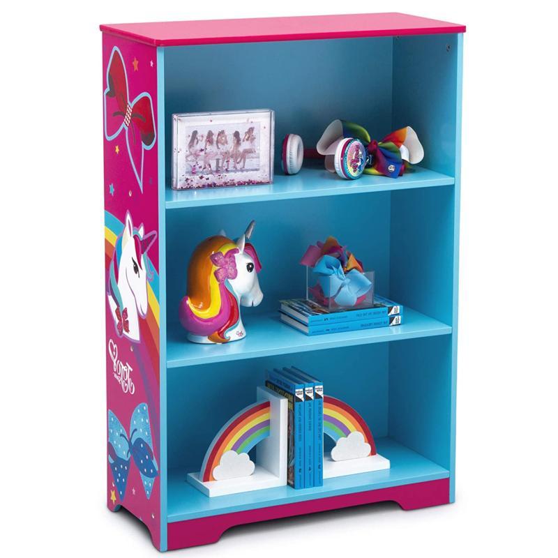 Delta Children Bookcase Ideal for Books, Decor, Homeschooling