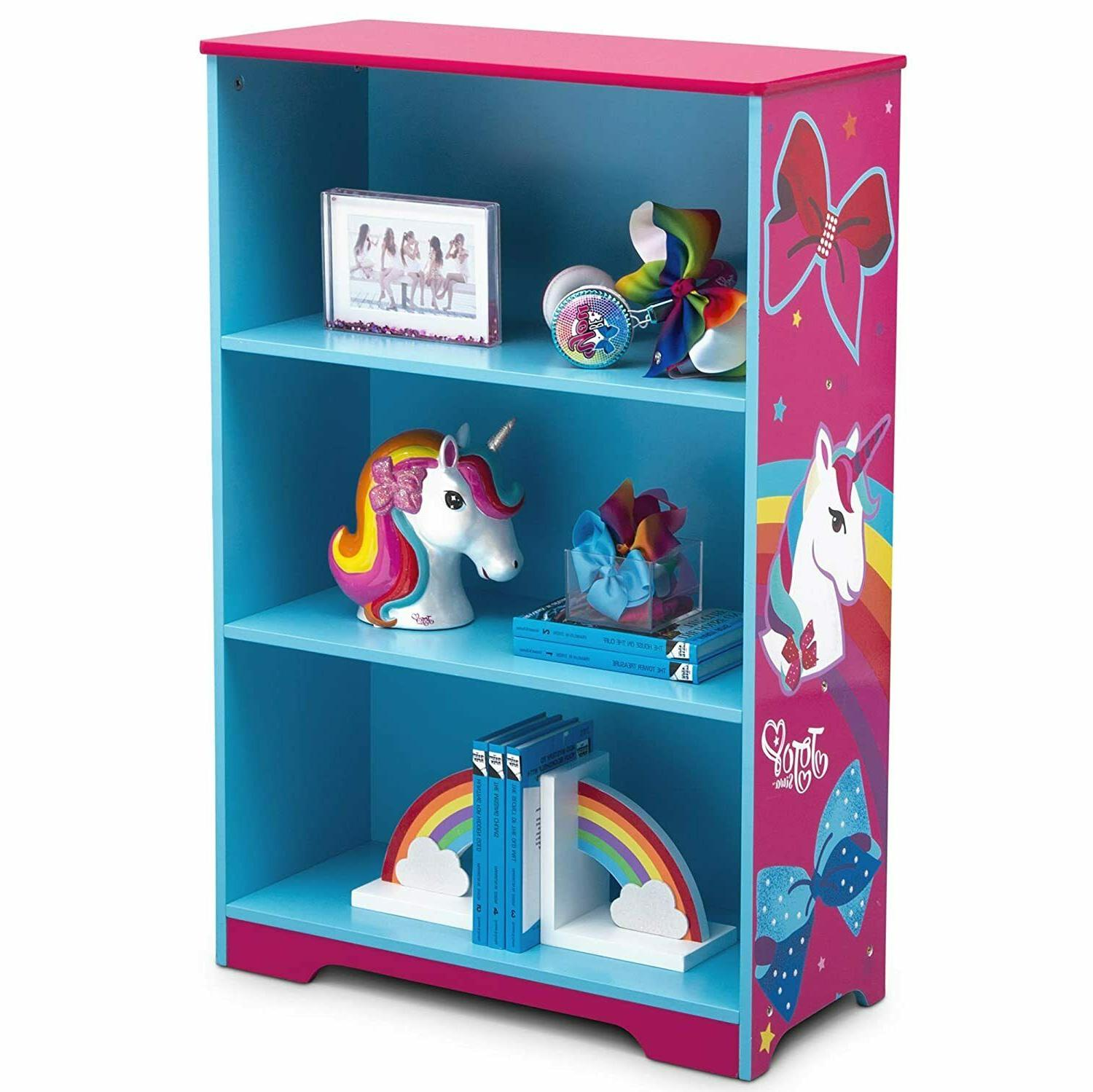 deluxe 3 shelf bookcase ideal for books