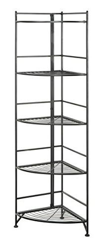Designs2Go 5 Tier Metal Corner Shelf