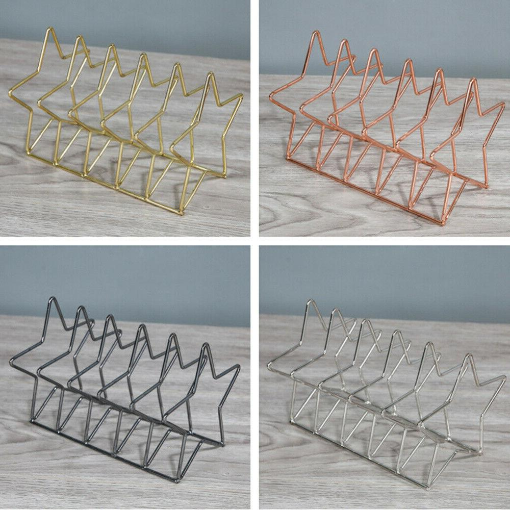 Desktop Iron Art Bookstand Supply for