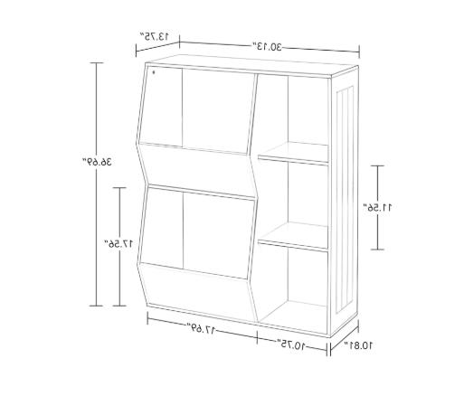 Floor Cabinet & Bookcase for Storing Games Baby Stuff