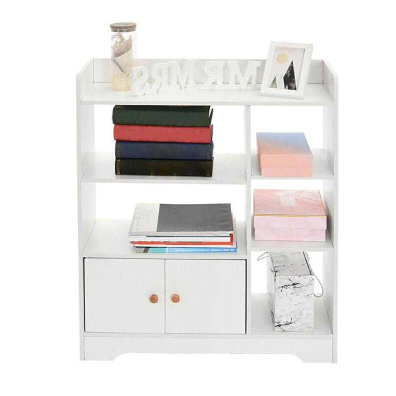 Bookcase Book Storage Display w/ 2