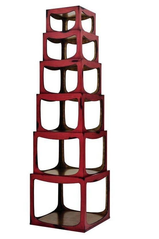 jeffrey bilhuber cedar row etagere bookcase display
