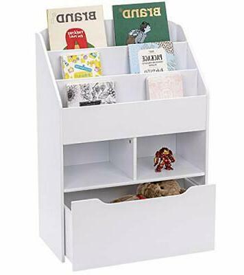 Kids and Toy Storage Kids Book Organizer Storage