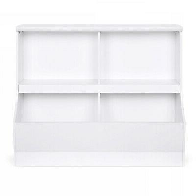 Kids Storage for 2 Shelves Cubbies Duarble