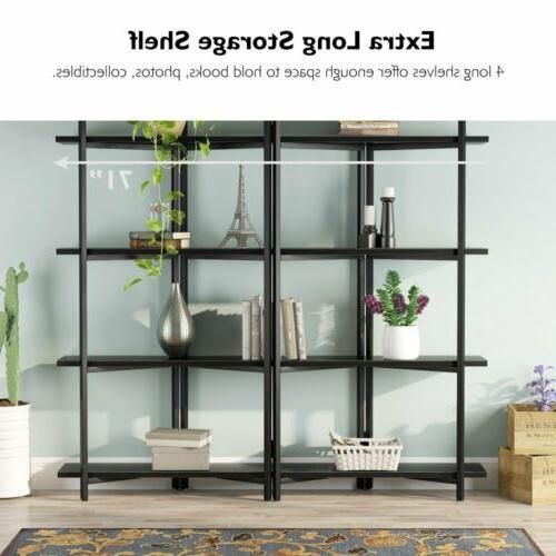 4 Tier Bookshelf Bookcase