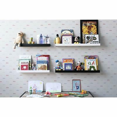 """Philly Bookcases Floating Shelves Display - """""""