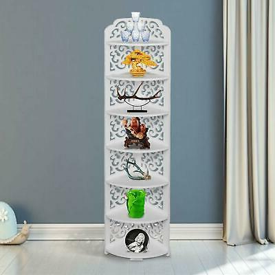 practical 7 tier corner shelf stand rack